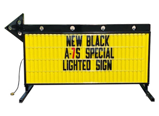MODEL A-7S SPECIAL BLACK YELLOW